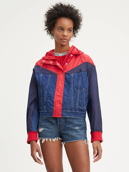 Slouch Trucker Jacket