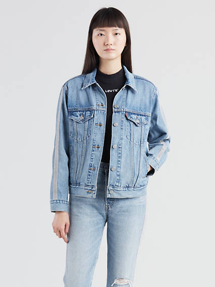 Diamante Ex-Bf Trucker Jacket