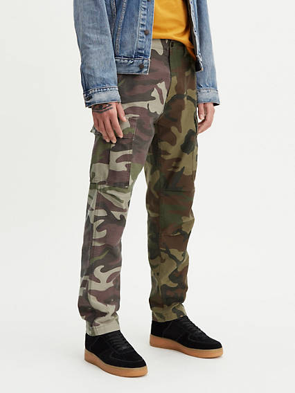 Hi-Ball Roll Cargo Trousers