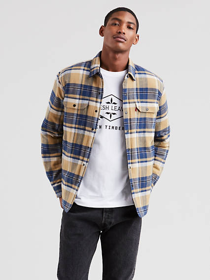 Mens Coats Jackets Denim Jackets For Men Levis Uk