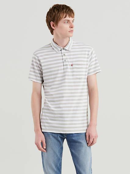 Short Sleeve Classic Pocket Polo