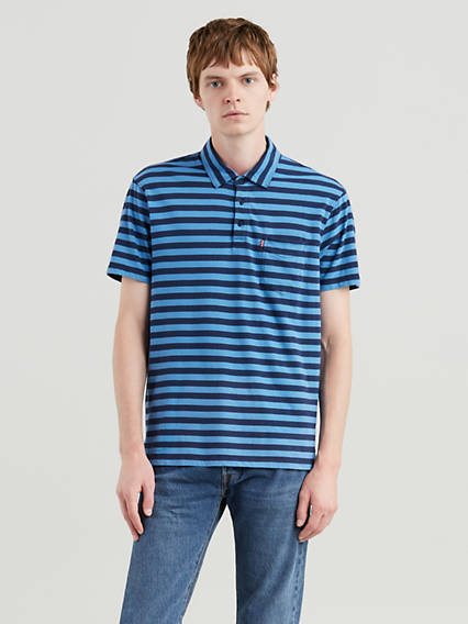Short Sleeve Classic Pocket Polo