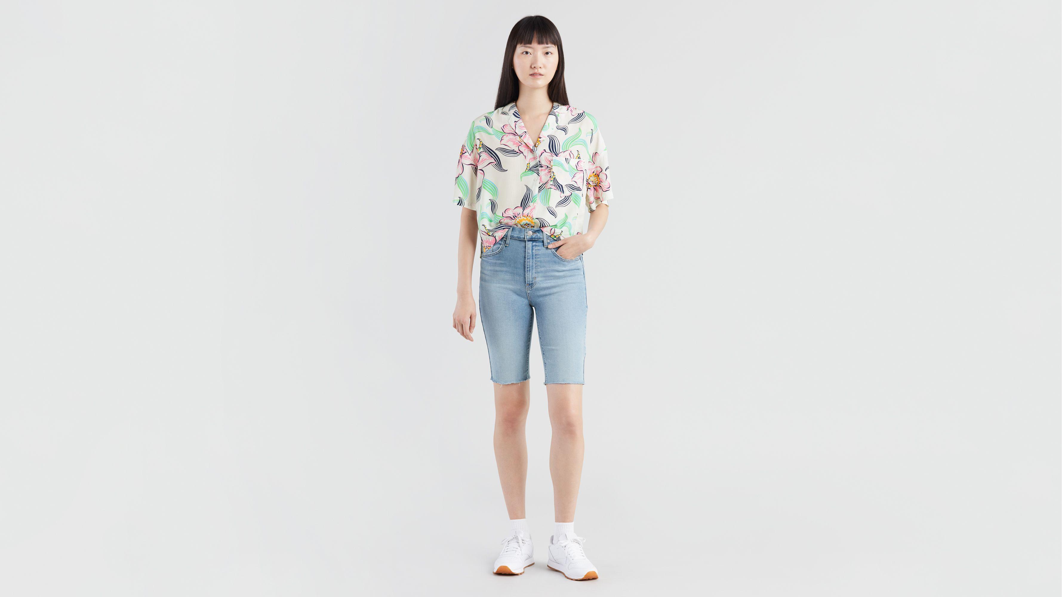 levis skinny shorts