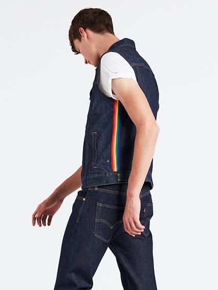 Levi's® Pride Trucker Vest