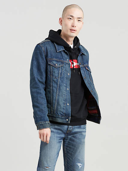 Lined Trucker Jacket