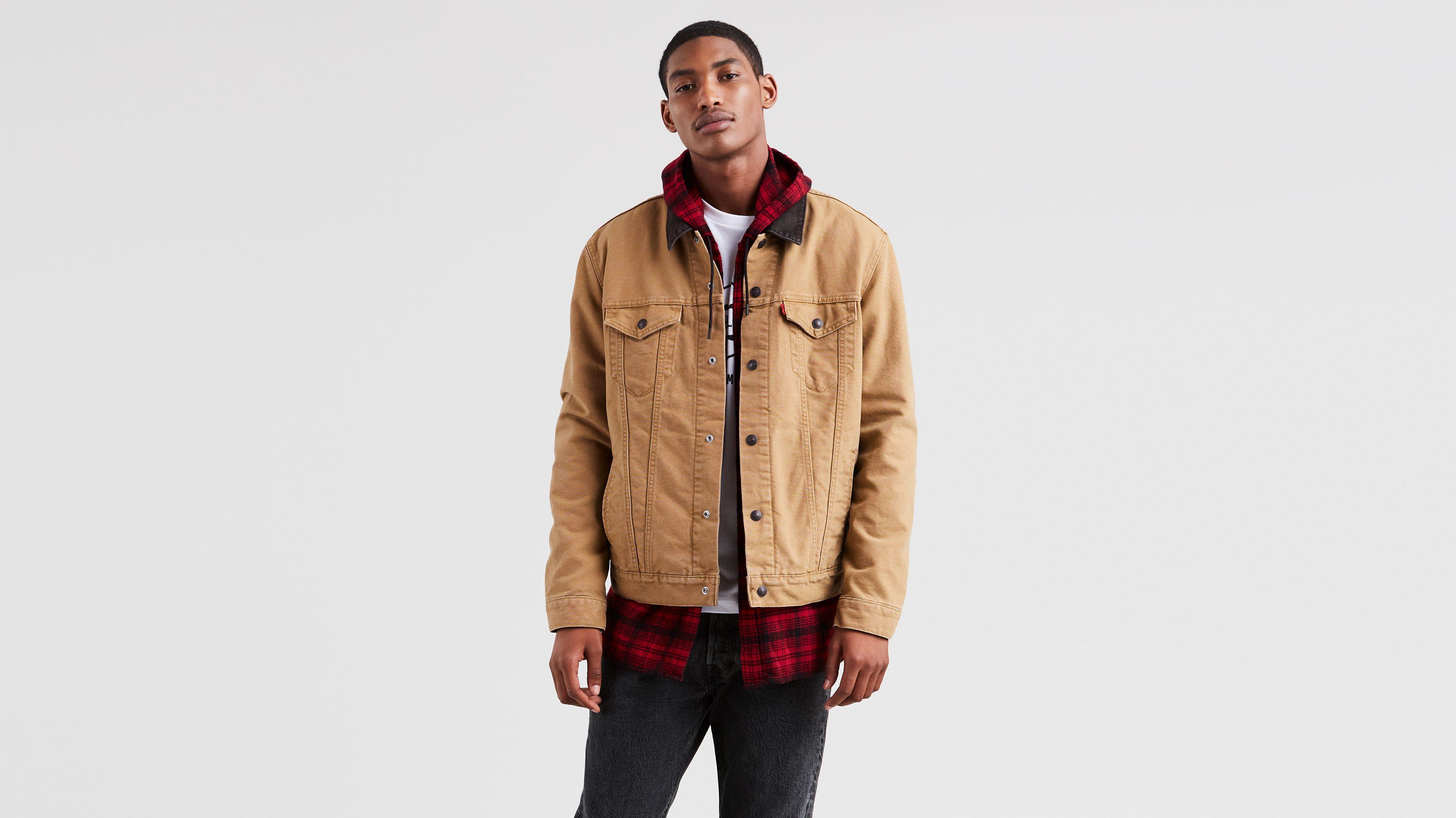 Jacket Timberlake Levi's® Canvas Trucker x Justin gy7Yb6f