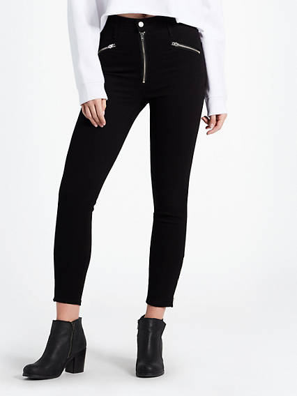 Mile High Moto Ankle Jeans