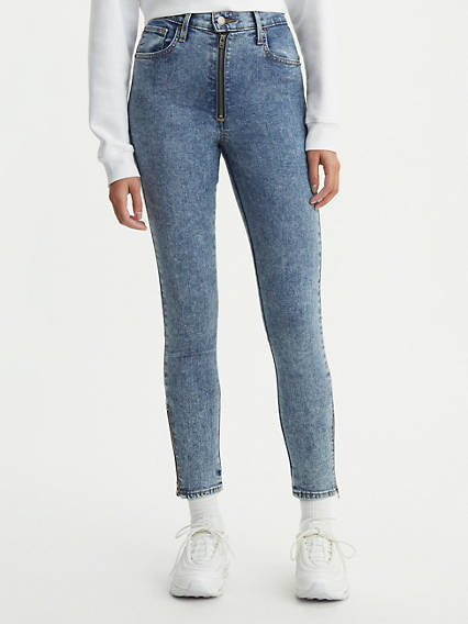 Moto Mile High Ankle Jeans