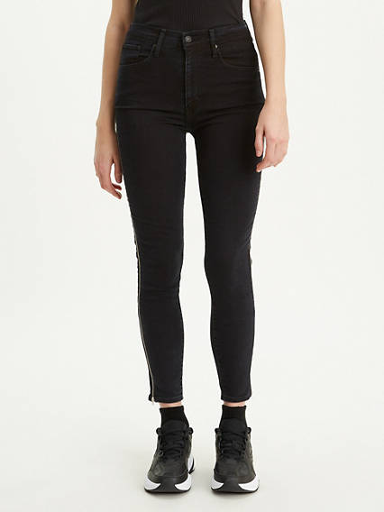 Mile High Ankle Zip Jeans
