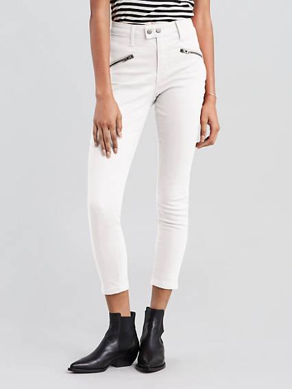 721 High Rise Skinny Moto Jeans