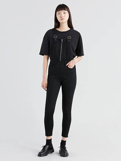 Skinny Zip Overalls