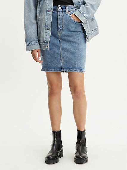 296a24be0b6 Denim Skirts   Dresses - Shop Jean Skirts   Dresses