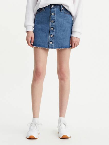 ae7a2d09a359 Denim Skirts   Dresses - Shop Jean Skirts   Dresses
