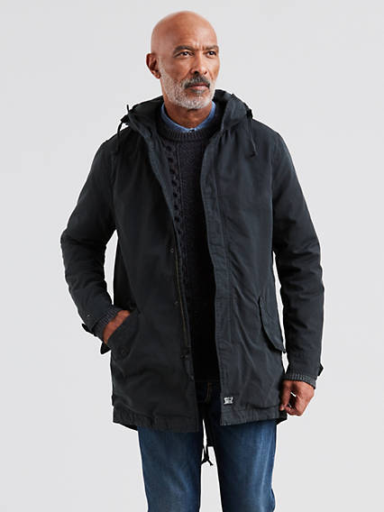 Lined Fishtail Parka Jacket