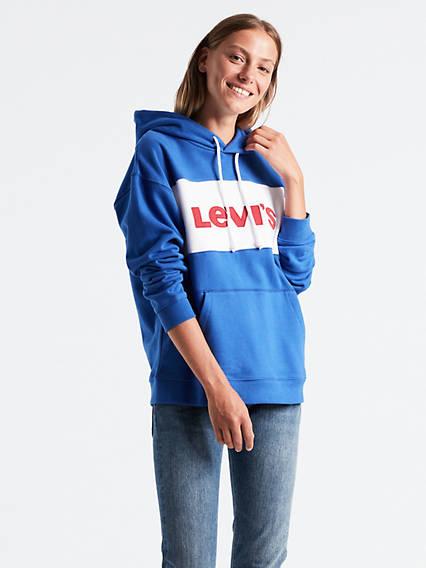 Colorblock Sportswear Hoodie