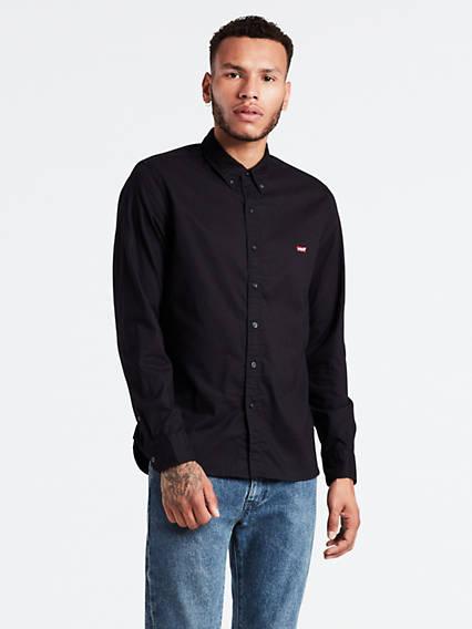 Long Sleeve Housemark Shirt