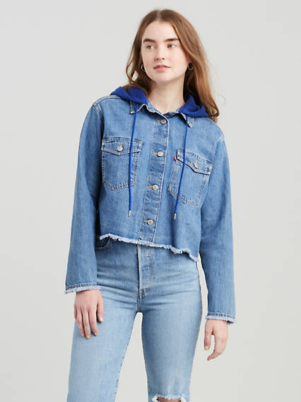 Levi's® Extra Rania Hooded Shirt