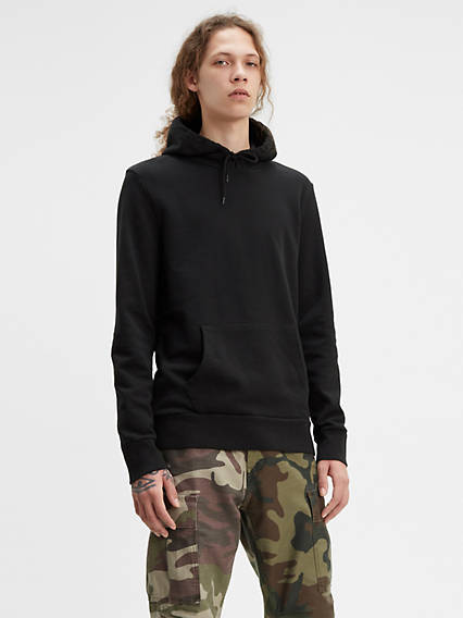 Men's Custom Blank Fleece Hoodie