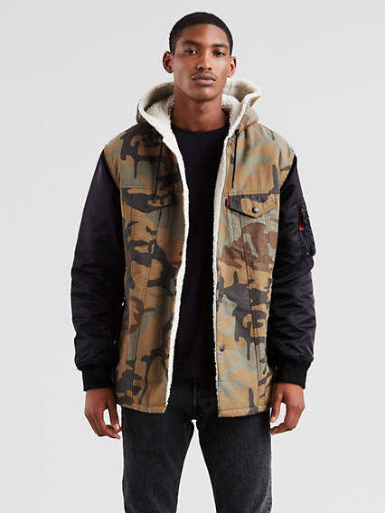 Levi's® x Justin Timberlake Limited Edition Hooded Trucker Jacket