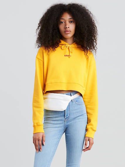 Baby Cropped Hoodie