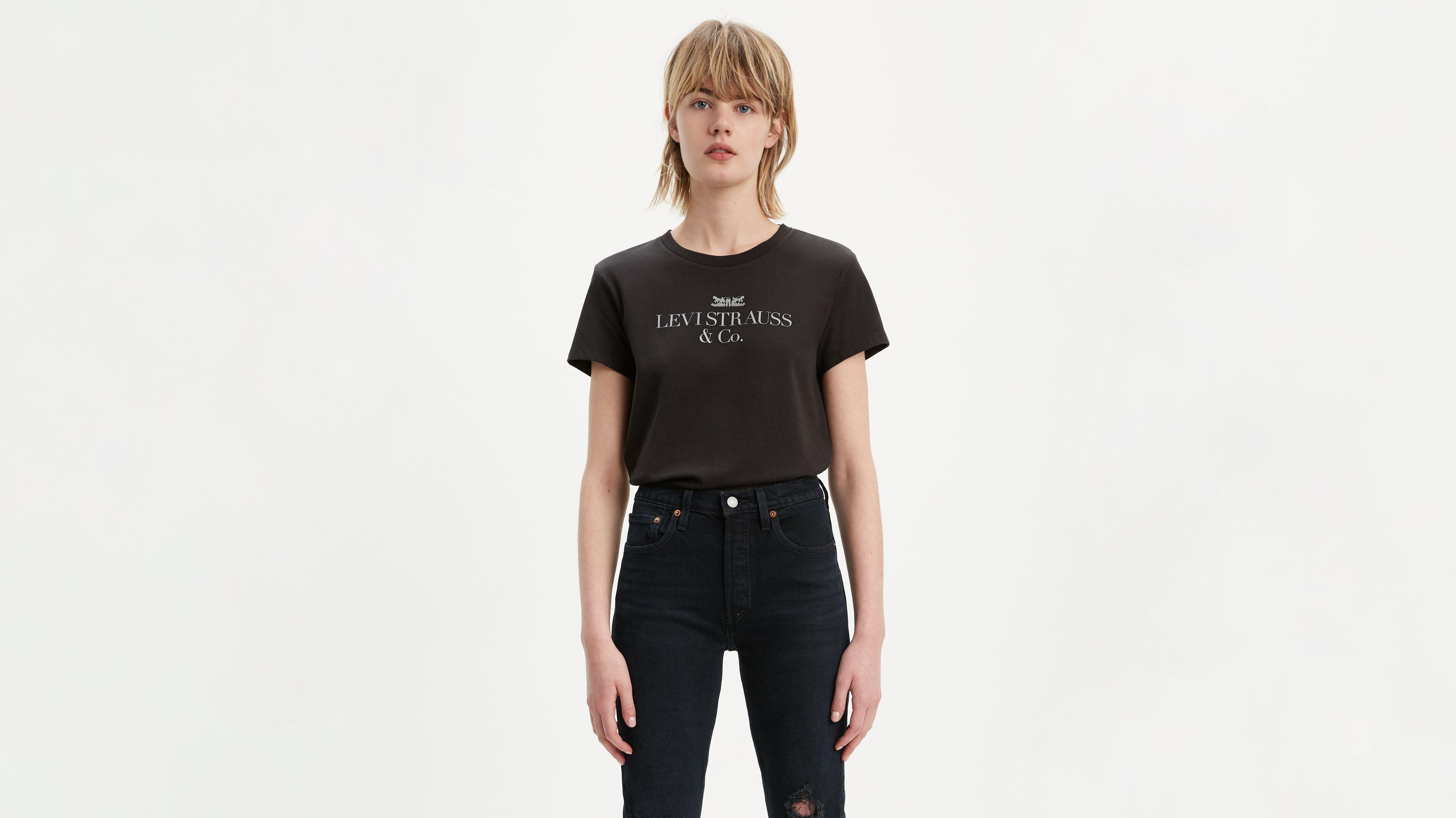 90's Logo Boyfriend Tee Shirt
