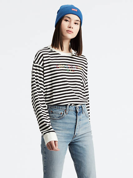 98a5a60f69160 Graphic Long Sleeve Tee