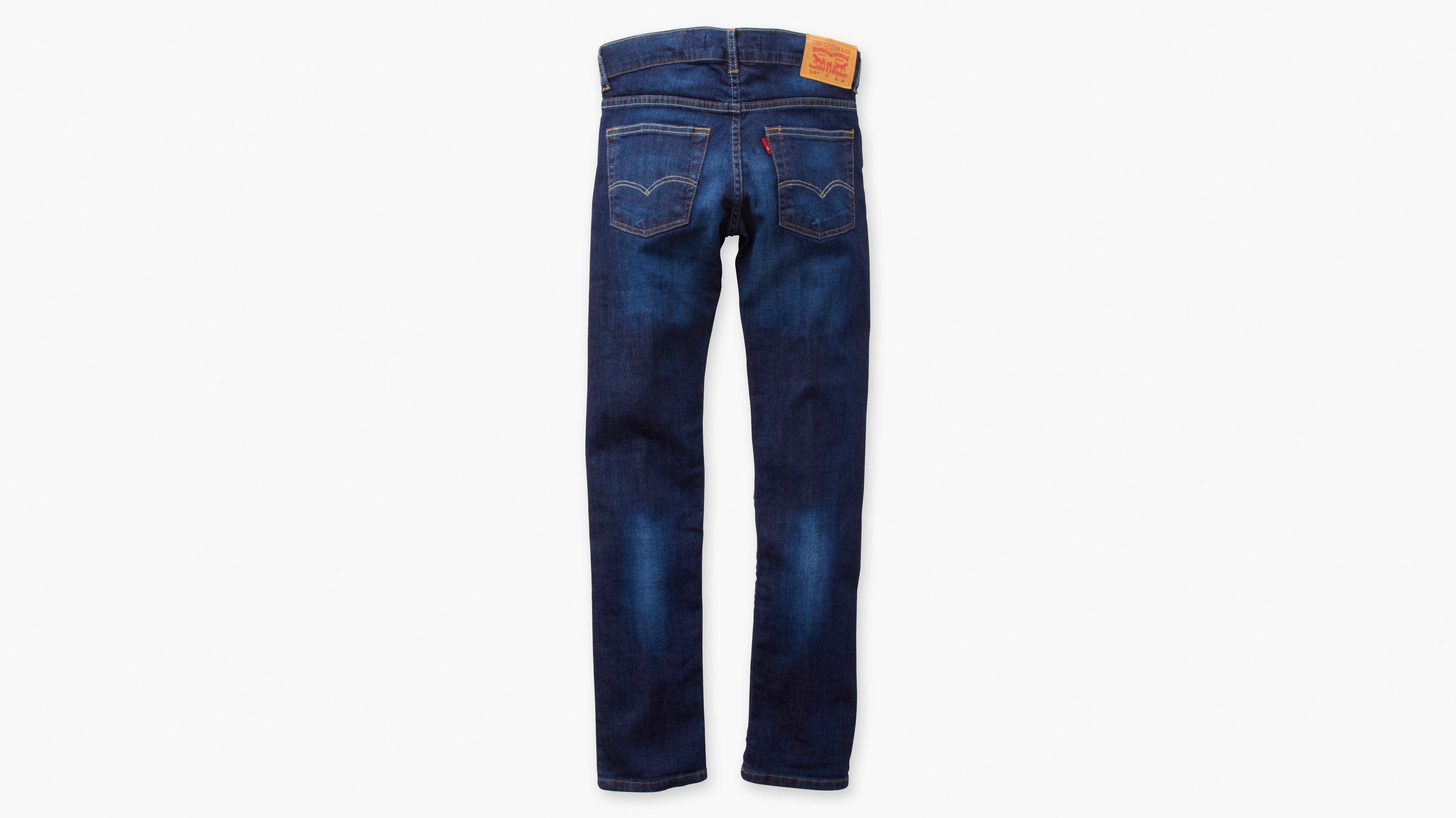 39a4389c Boys 510™ Skinny Fit Jeans - Blå | Levi's® DK