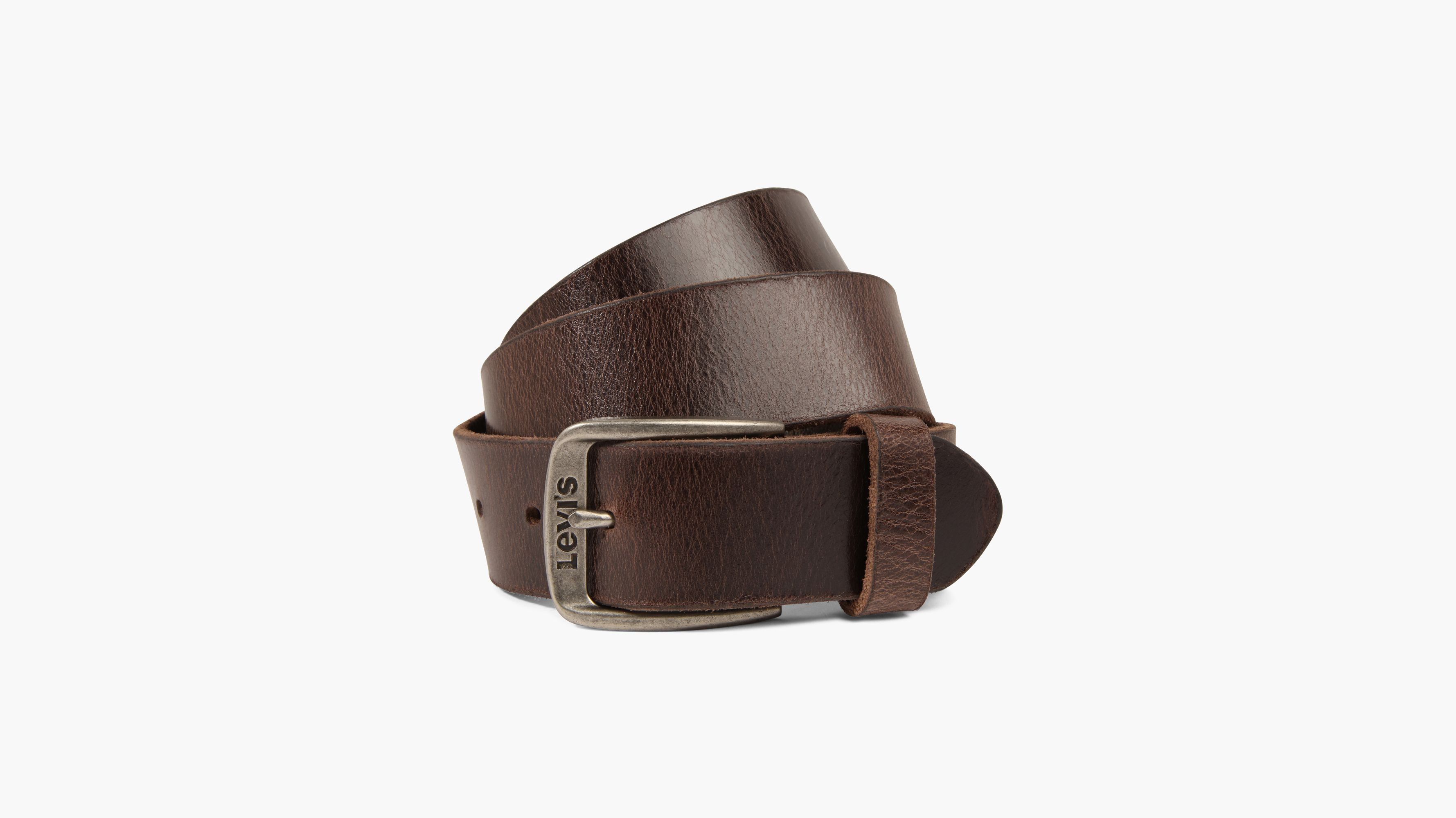 Mens Ladies Genuine UK Made Leather Belt Slim Thin Black Brown Tan Small to 3XL