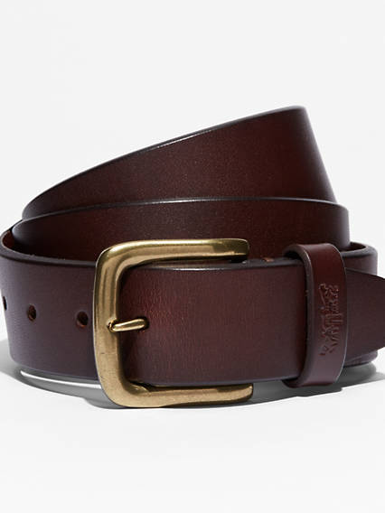 Premium Leather Icon Belt