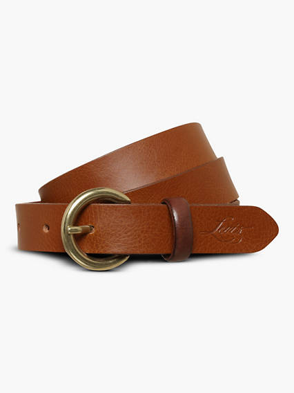Larkspur Contrast Loop Belt