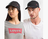78f984966efb8e Classic Twill Red Tab Baseball Cap - Black | Levi's® US