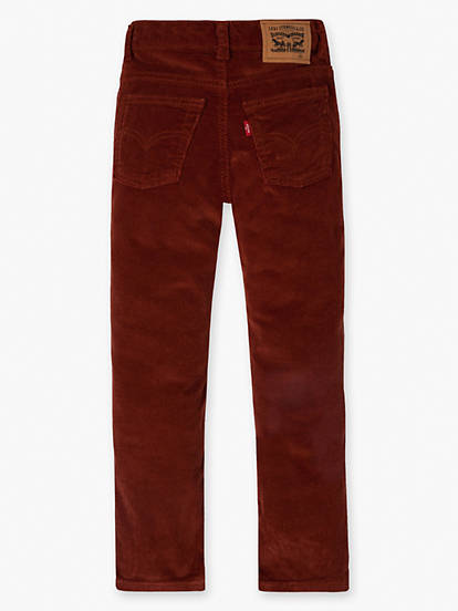 comfortable feel super cheap compares to unparalleled Big Boys 8-20 511™ Slim Fit Corduroy Pants