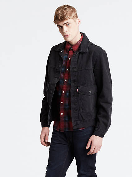 Patch Pocket Trucker Jacket
