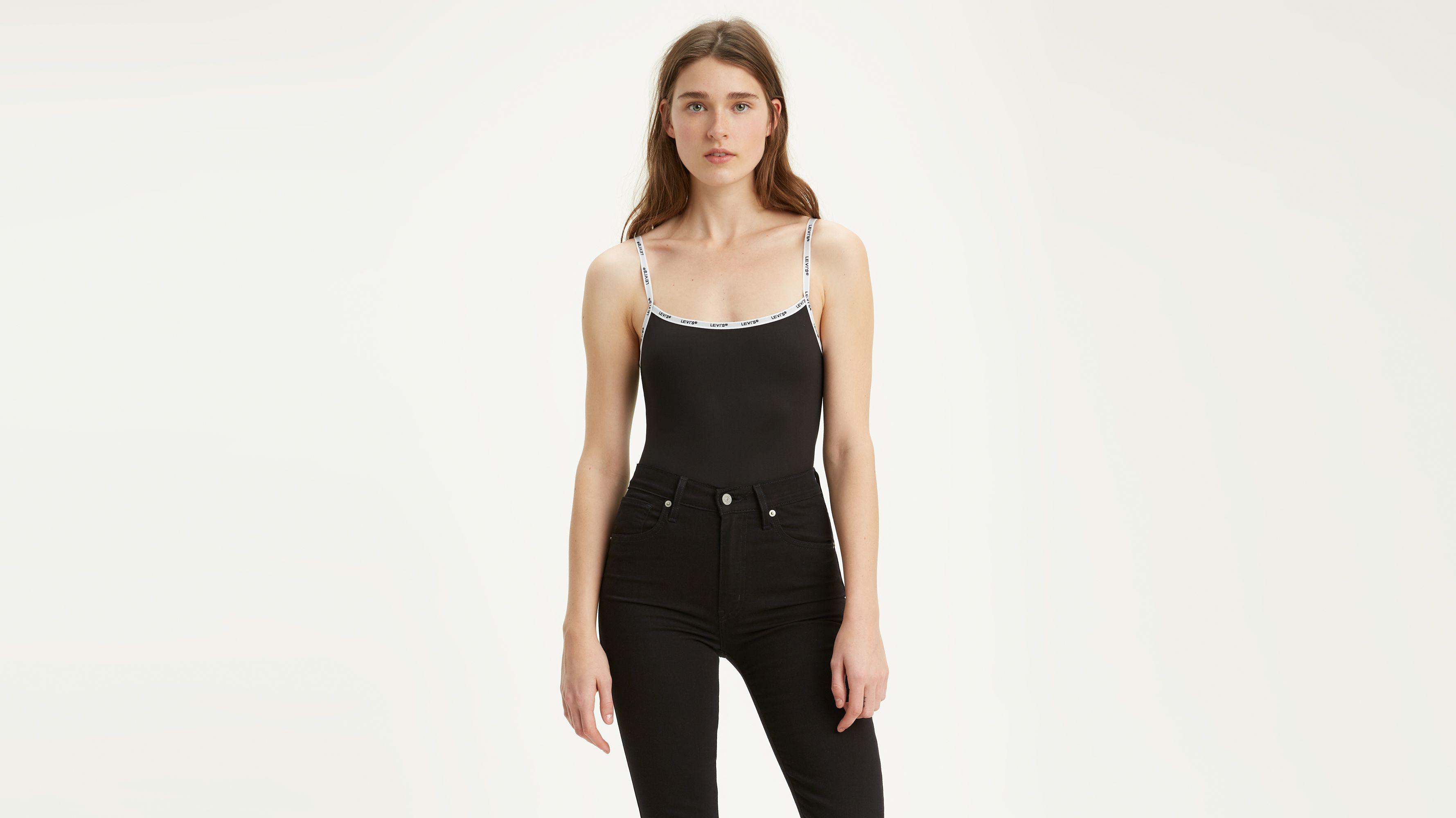 7c74aa9a Paige Bodysuit - Black | Levi's® US