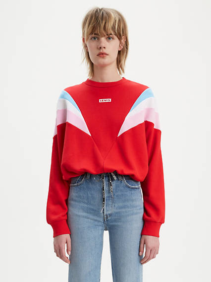 Florence Graphic Crewneck Sweatshirt