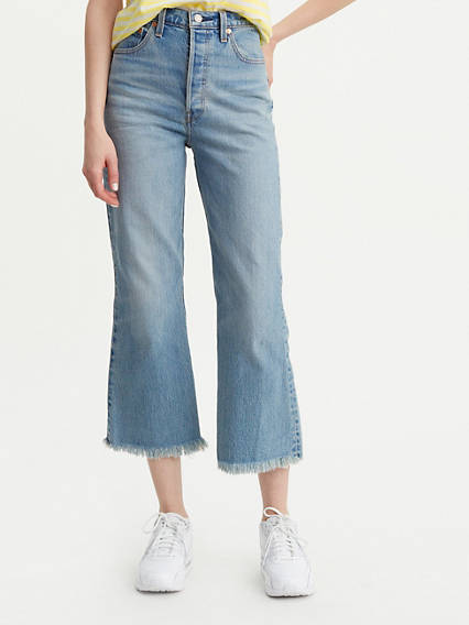 Ribcage Cropped Flare Jeans