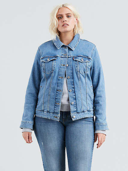 Plus Size Denim Jackets - Shop Women s Jean Jackets  8a9e80fb5e