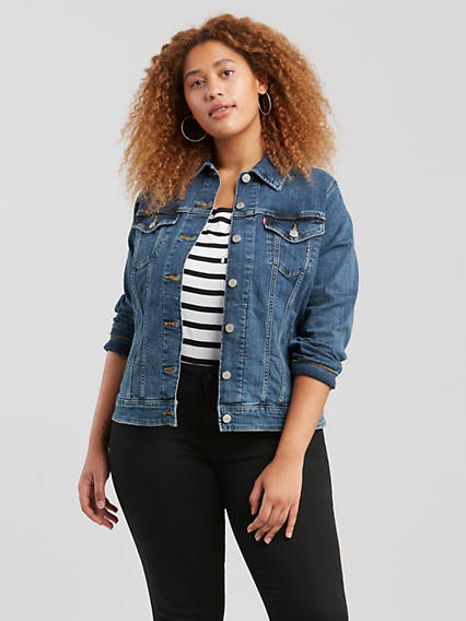 d98620abeaedf Original Trucker Jacket (Plus Size)