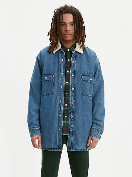 Filled Utility Worker Jacket