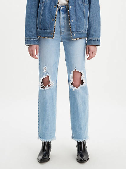 Ribcage Full Length Jeans