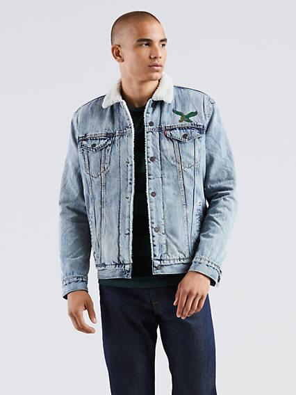 Levi's® NFL Sherpa Trucker Jacket
