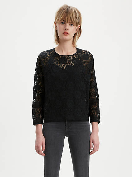 Miranda Lace Blouse