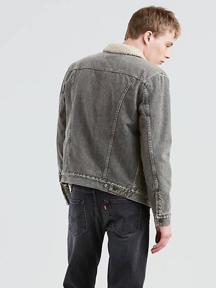 Vintage Fit Sherpa Trucker Jacket