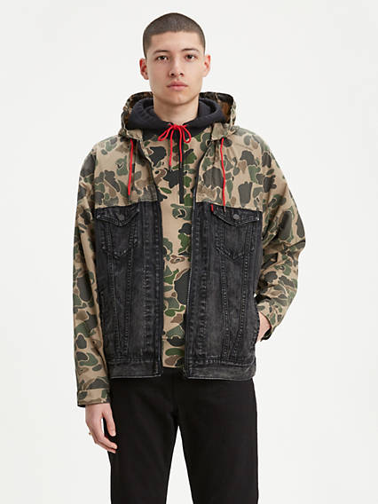 Hooded Trucker Jacket