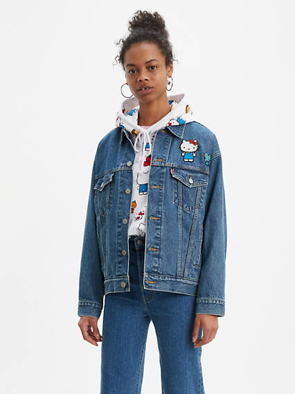 Levi's® x Hello Kitty Dad Trucker Jacket