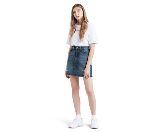 5d26fea16e Deconstructed Iconic Skirt - Medium Wash | Levi's® GB