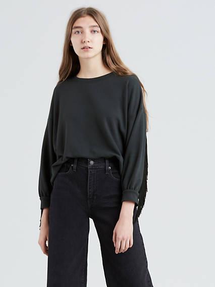 Fringe Sweatshirt