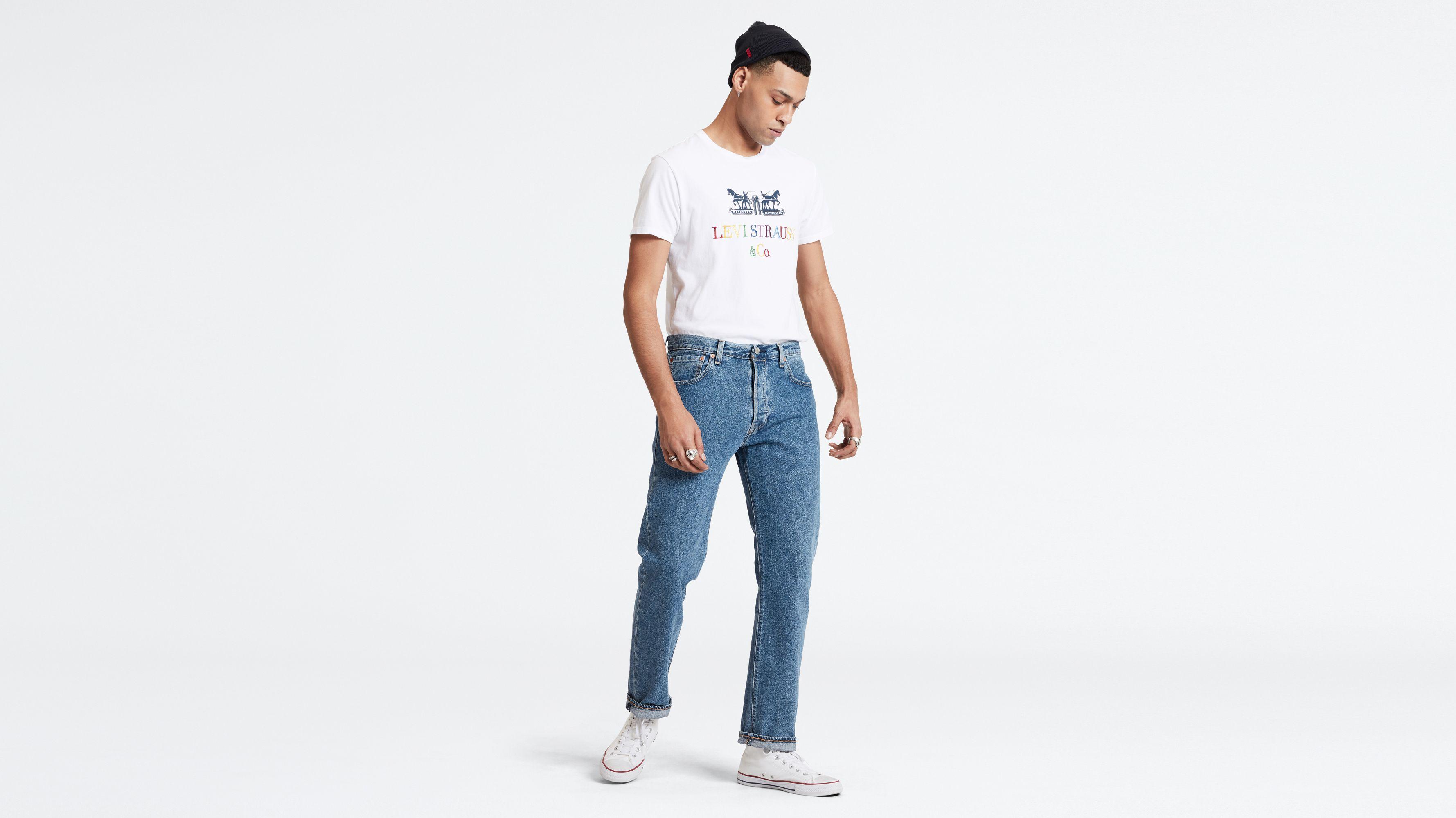 858ca1424ad9 501® '93 Straight Jeans - Medium Indigo | Levi's® SE