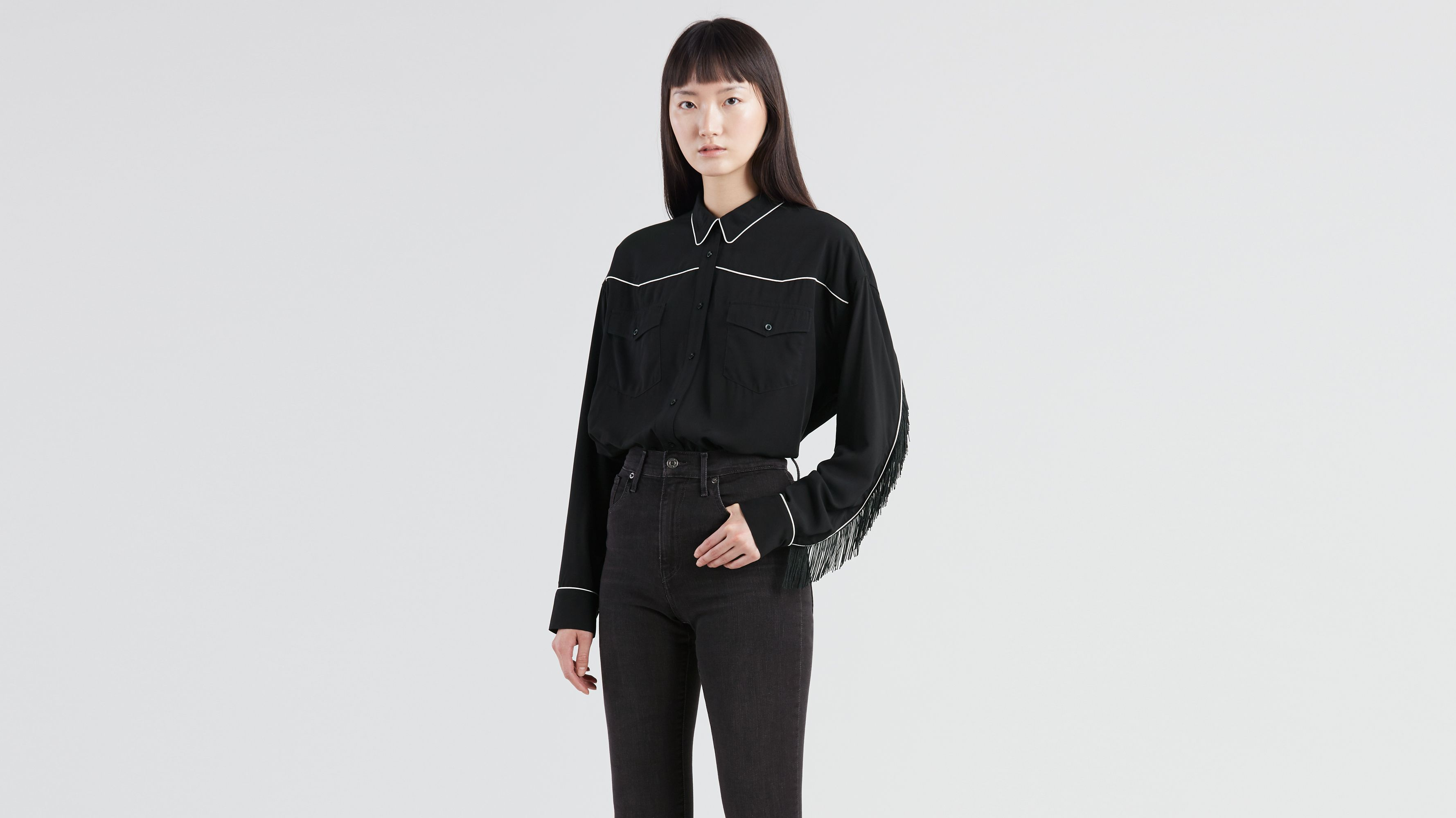 9fa11351 Fringe Western Shirt - Black | Levi's® US
