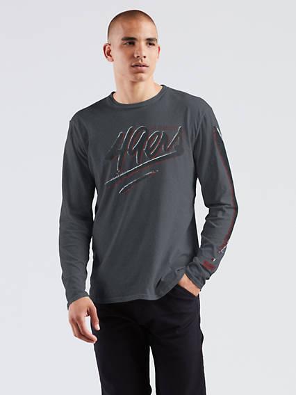 Levi's® NFL Longsleeeve Graphic Tee Shirt